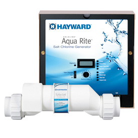 Image for AquaRite® Salt Chlorinators from Hayward Residential and Commercial Pool Products