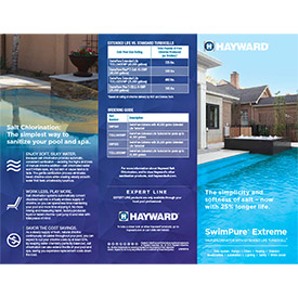 Image for SwimPure Extreme Stuffer from Hayward Residential and Commercial Pool Products