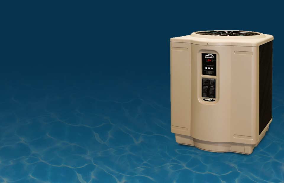 Gas pool heaters pool heat pumps hayward canada pool for Chauffe piscine hayward